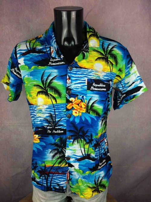 AREMAR Chemise Neuf Made Dominican Republic - Gabba Vintage (2)