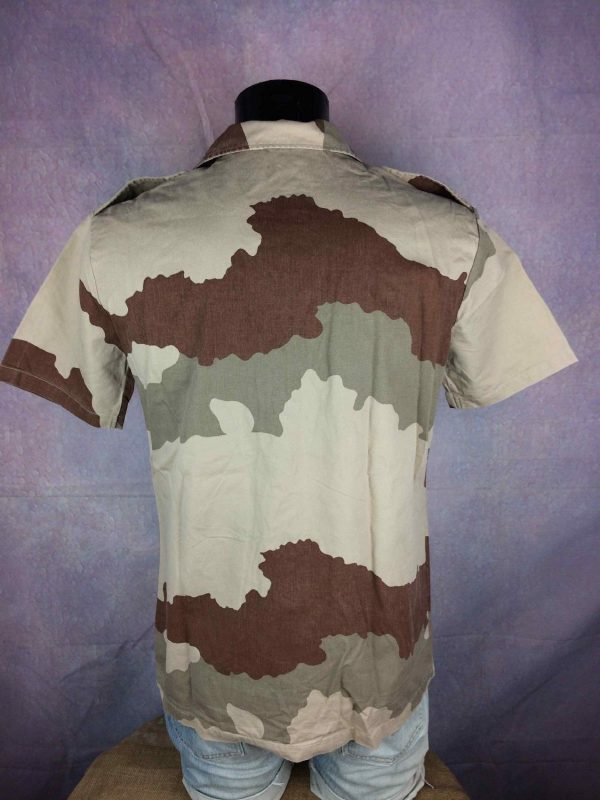 ARMEE FRANCAISE Chemise Camouflage Vintage Gabba Vintage 1 - ARMEE FRANÇAISE Chemise Camouflage Vintage