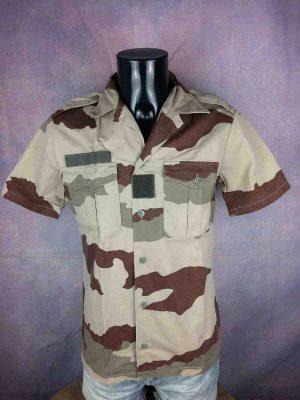 ARMEE FRANÇAISE Chemise Camouflage Vintage - Gabba Vintage