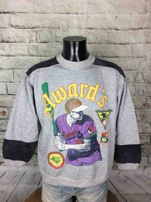 AWARD ACADEMY Sweatshirt Vintage 80s France - Gabba Vintage