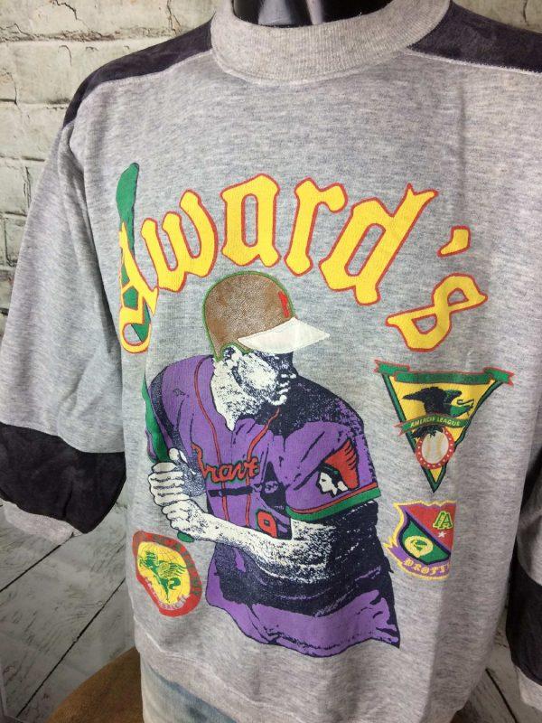AWARD ACADEMY Sweatshirt Vintage 80s France Gabba Vintage 2 - AWARD ACADEMY Sweatshirt Vintage 80s France