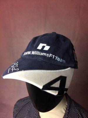 BMW Williams Casquette 2004 Schumacher #4 Vintage Officiel F1 Formula One