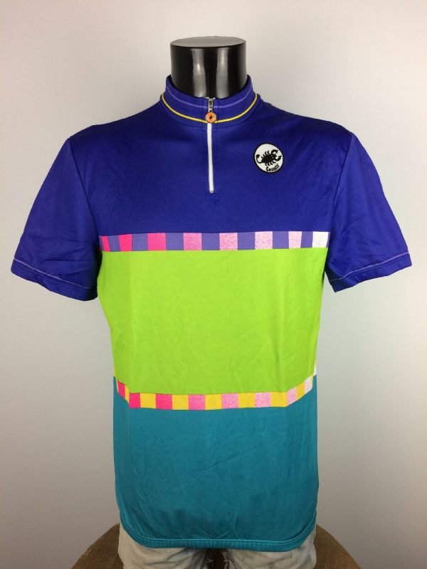 CASTELLI Made in Italy Maillot Vintage 90s - Gabba Vintage