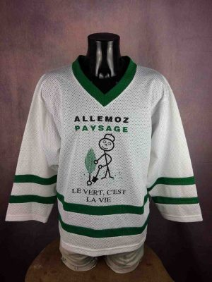 CHAMBERY Maillot HG Dynapro Made in Canada True Vintage 90s Hockey Jersey