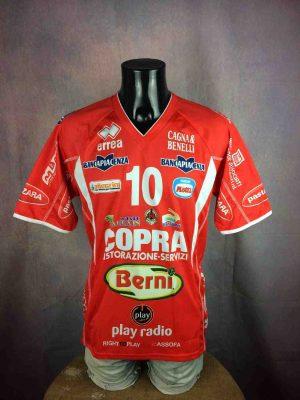 COPRA Berni Piacenza Maillot Porté #10 Eli Volley - Gabba Vintage