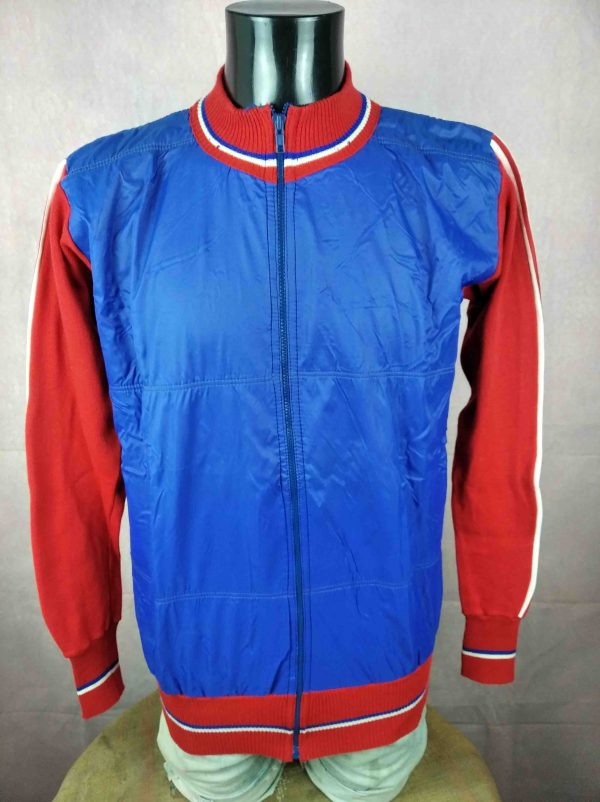 CORTINA Veste Vintage 80s Made in Italy Laine - Gabba.. (2)