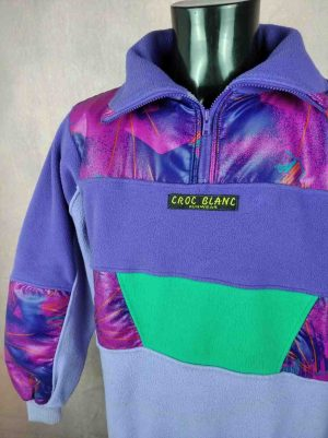 CROC BLANC Funwear Vintage 90s Ski Unisex - Gabba Vintage