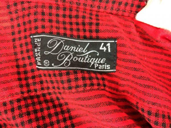 DANIEL BOUTIQUE Paris Chemise France Vintage 80s Gabba.. 4 rotated - DANIEL BOUTIQUE Chemise France Vintage 80s