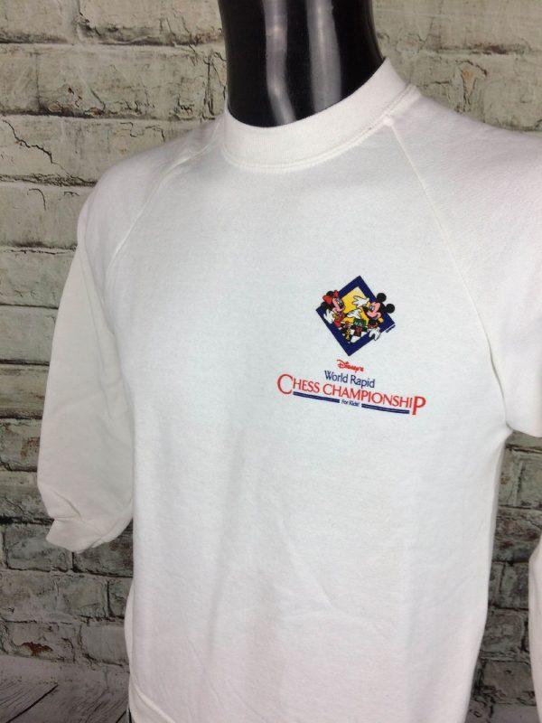 DISNEY Sweatshirt Vintage 80s Mickey For Kids Gabba.. 3 - DISNEY Sweatshirt Vintage 80s Mickey For Kids