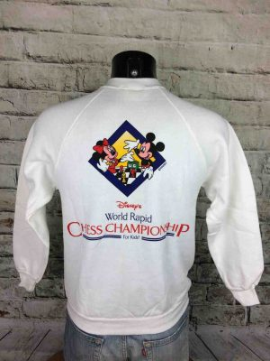 DISNEY Sweatshirt Vintage 80s Mickey For Kids - Gabba...