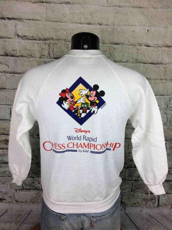 DISNEY Sweatshirt Vintage 80s Mickey For Kids - Gabba...