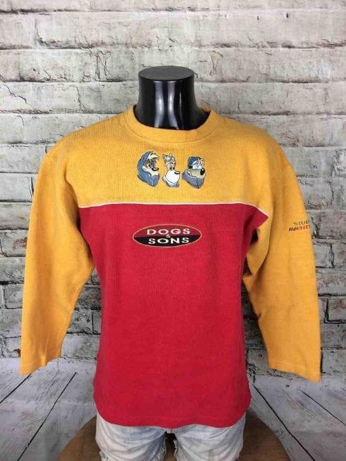 Studio Aventures Sweatshirt 1999 Vintage Dogs - Gabba...