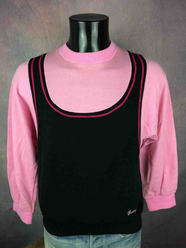 FOOTING SweatShirt Vintage 80s Made in France - Gabba...