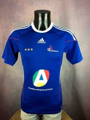 FRANCE Maillot 2010 Adidas FFH Champion Cup - Gabba Vintage