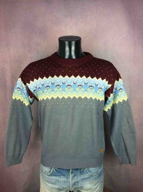 FUSALP Pullover Made in France Vintage 90s - Gabba Vintage