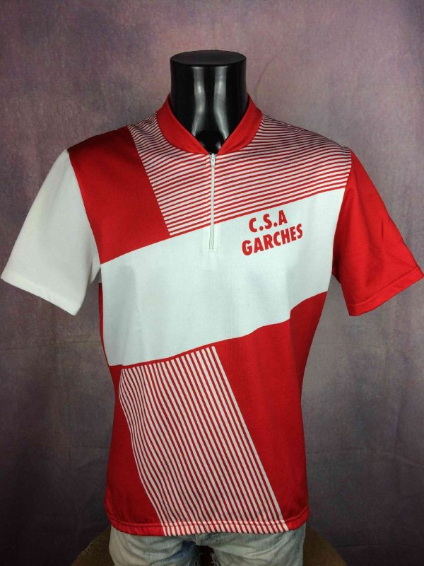 GARCHES Maillot Made in France Vintage 80s - Gabba Vintage (2)