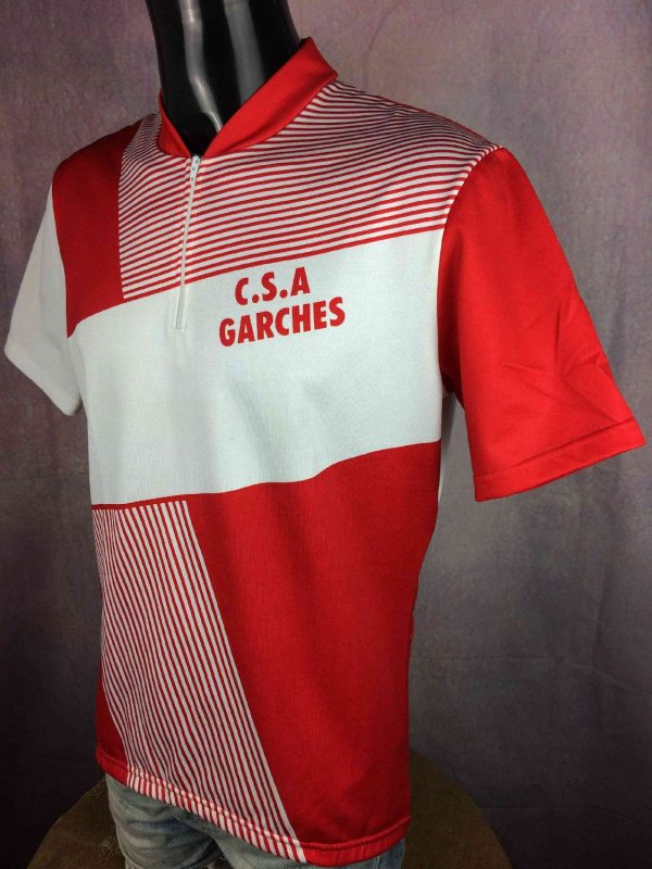 GARCHES Maillot Made in France Vintage 80s Gabba Vintage 3 - GARCHESMaillot Made in France Vintage 80s