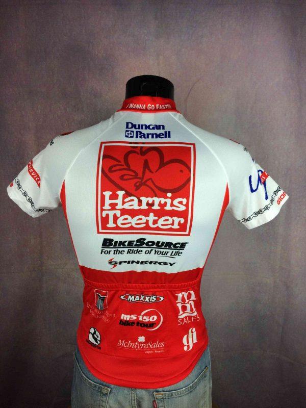 GIORDANA Maillot Harris Teeter Cycling USA Gabba Vintage 1 - GIORDANA Maillot Harris Teeter Cycling USA