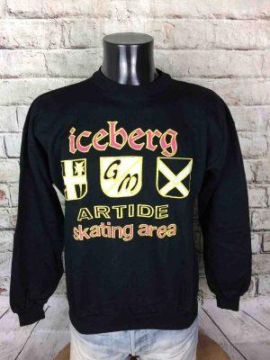 ICEBERG Sweatshirt Made in Italy Vintage 80s - Gabba Vintage