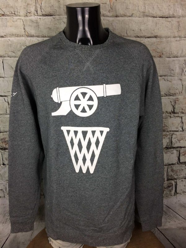 K1X Sweatshirt Play Hard The Nation Of Hoop - Gabba Vintage