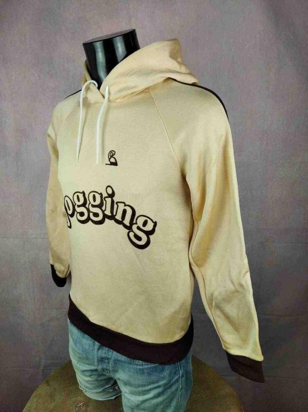 LA CIGOGNE Sweatshirt Vintage Made in France Gabba Vintage 3 compressed resultat - LA CIGOGNE Sweat Vintage 80s Made in France