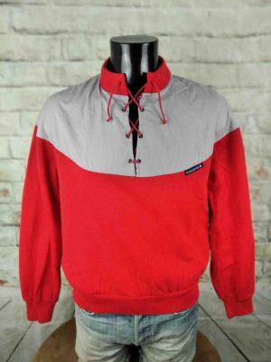 LE COQ SPORTIF Sweatshirt Vintage 80s Lacets - Gabba Vintage