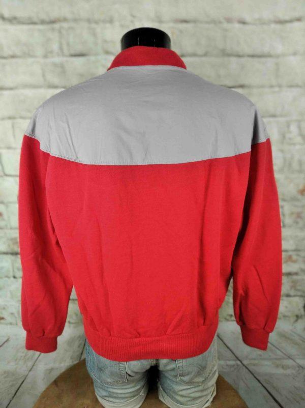 LE COQ SPORTIF Sweatshirt Vintage 80s Lacets Gabba Vintage 5 - LE COQ SPORTIF Sweatshirt Vintage 80s Lacets