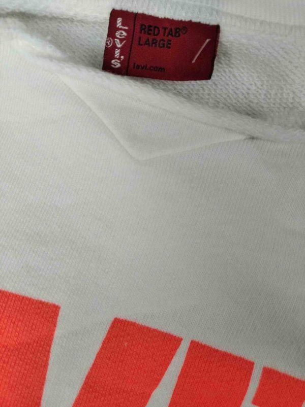 LEVIS Sweatshirt Muscle Red Tab Cut Off Gabba Vintage 1 rotated - LEVIS Sweat Muscle Red Tab Cut-Off Coupé