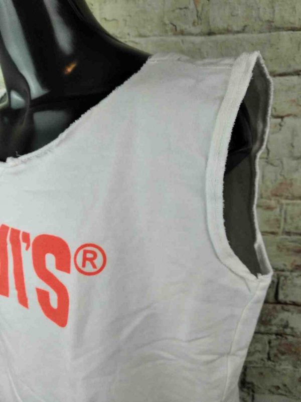 LEVIS Sweatshirt Muscle Red Tab Cut Off Gabba Vintage 6 - LEVIS Sweat Muscle Red Tab Cut-Off Coupé