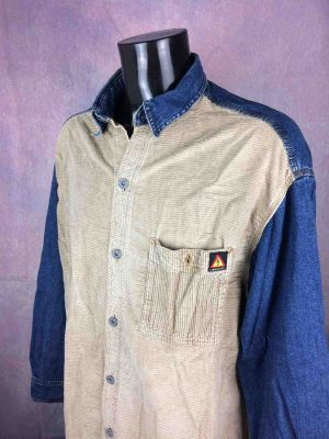 LIBERTO Chemise Jeans Velours Vintage 90s - Gabba Vintage
