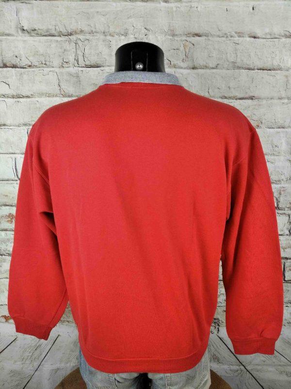 LOIS SweatShirt Vintage 80s Polo World Cup Gabba Vintage 1 - LOIS SweatShirt Vintage 80s Polo World Cup
