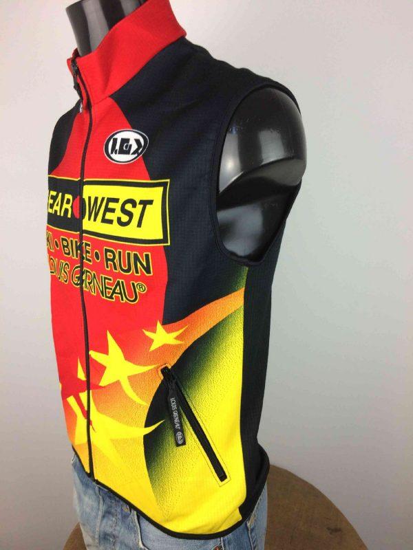 LOUIS GARNEAU Veste Gilet Bike Run Ski Canada Gabba.. 3 - LOUIS GARNEAU Veste Gilet Bike Run Ski Canada