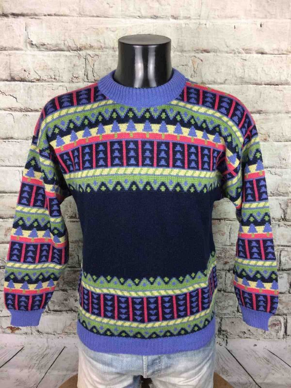 MARESE Pullover Vintage 80s Laine France Pull - Gabba...