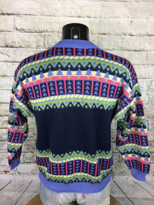 MARESE Pullover Vintage 80s Laine France Pull Gabba.. 4 - MARESE Pull Vintage Années 80s Laine France