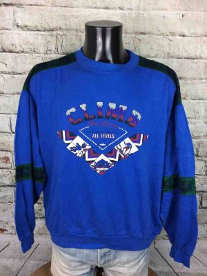 MILSPORT SweatShirt Made France Vintage 80s - Gabba Vintage