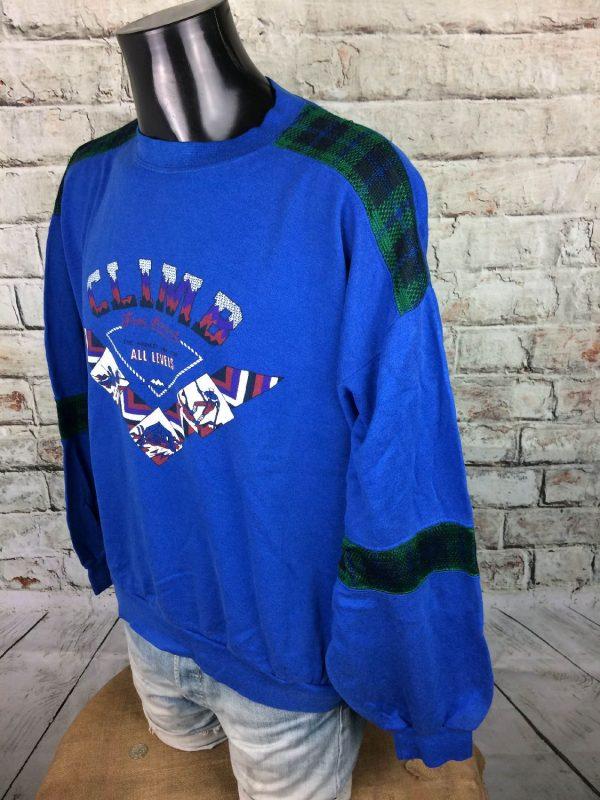 MILSPORT SweatShirt Made France Vintage 80s Gabba Vintage 3 - MILSPORT SweatShirt Made France Vintage 80s