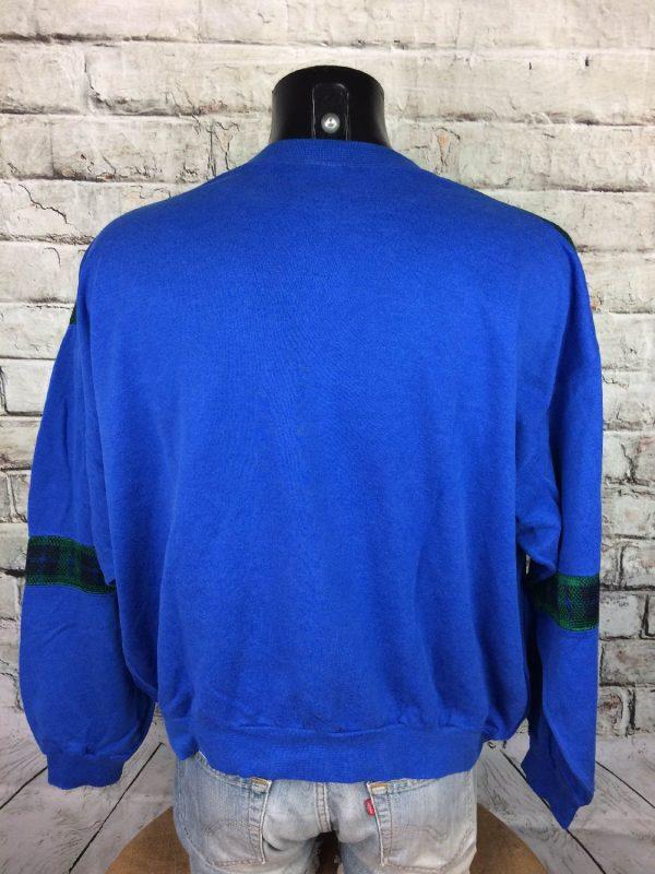 MILSPORT SweatShirt Made France Vintage 80s Gabba Vintage 4 - MILSPORT SweatShirt Made France Vintage 80s