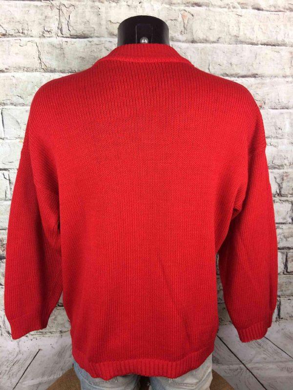 NAF NAF Pullover Vintage 80s Ski Hors Piste Gabba Vintage 1 - NAF NAF Pullover Vintage 80s Ski Hors Piste