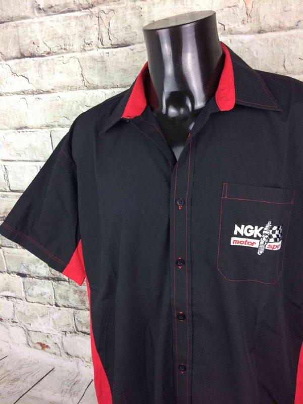 NGK Chemise Motor Sport Vintage 00s Racing - Gabba Vintage