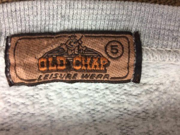 OLD CHAP Sweatshirt Vintage 80s Ski Design Gabba Vintage 1 rotated - OLD CHAP Sweatshirt Vintage 80s Ski Design