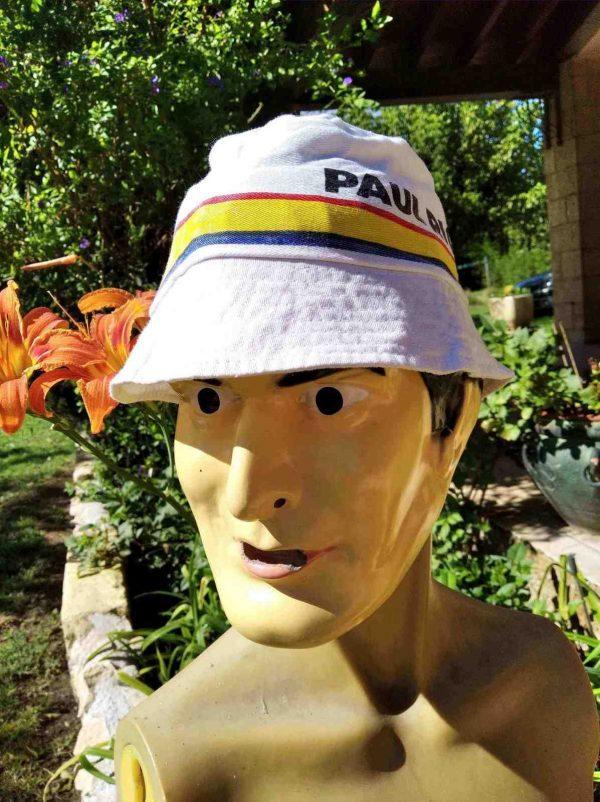 BobPAUL RICARD Circuit, véritable vintage années 80s, marque Arela,Racing Motors Cup 51 Sun Hat Floppy Cap Gorra