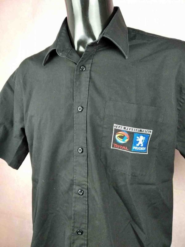 PEUGEOT Total Chemise Vintage 00s Official Gabba Vintage 3 compressed scaled - PEUGEOT Total Chemise Vintage 00s Official