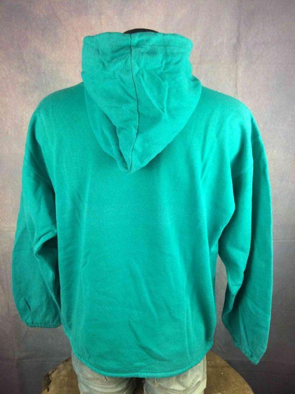 RAFTING Sweatshirt Vintage 80s Made in France Gabba.. 1 - RAFTING Sweat Vintage 80s Made in France Vert