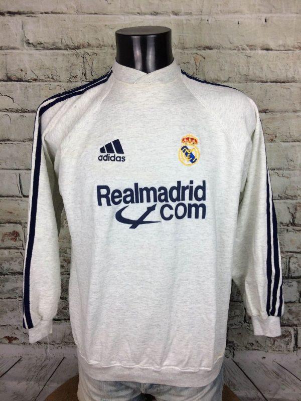 REAL MADRID Sweatshirt 2001 2002 Vintage - Gabba Vintage