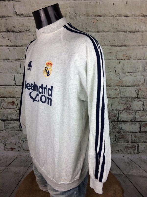 REAL MADRID Sweatshirt 2001 2002 Vintage Gabba Vintage 3 - REAL MADRID Sweatshirt 2001 2002 Vintage