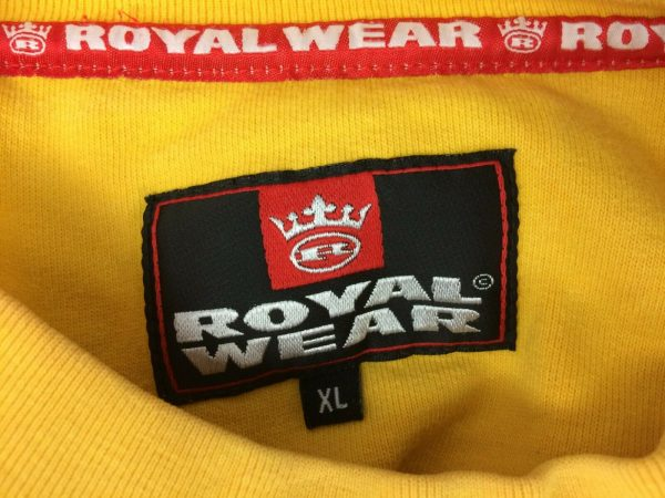ROYAL WEAR Sweatshirt Vintage 00s Hip Hop Gabba Vintage 5 - ROYAL WEAR Sweatshirt Vintage 00s Hip Hop
