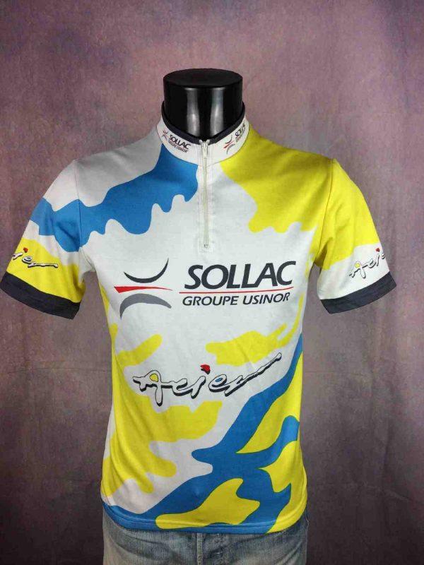 SOLLAC Maillot Au Tour de France Vintage 90s - Gabba Vintage (1)