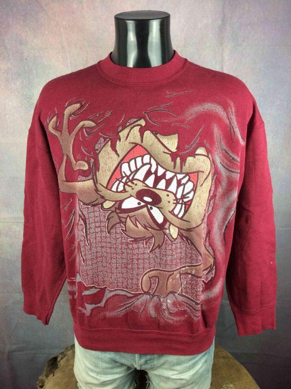 TAZ Sweatshirt Looney Tunes Vintage 1996 USA - Gabba Vintage