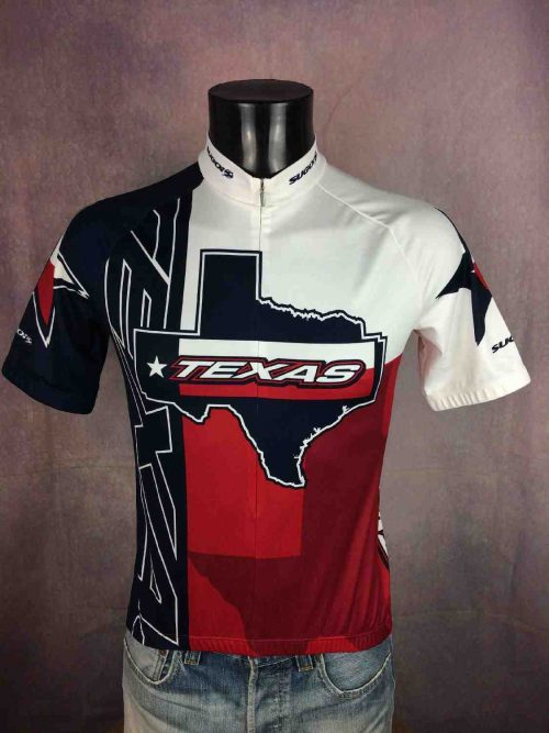 TEXAS Maillot Sugoi Made Canada Vintage 00s - Gabba Vintage