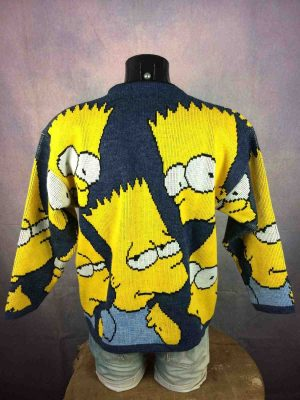 THE SIMPSONS Pullover Vintage 1998 Bart Laine Gabba.. 1 - Home